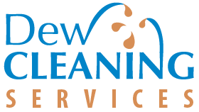 dew cleaning services logo
